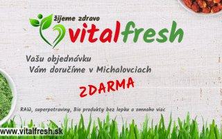 , VITALFRESH - bio obchod, zdrave biopotraviny a bezlepkové potraviny