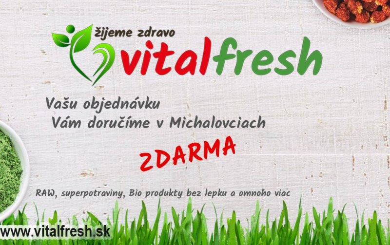 , foto: VITALFRESH - bio obchod, zdrave biopotraviny a bezlepkové potraviny