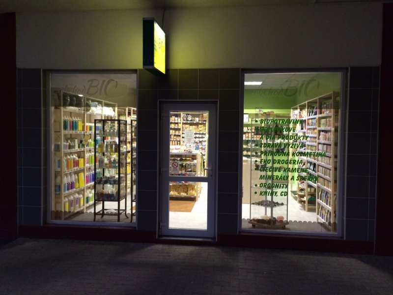 predajňa N, foto: obchodBIO