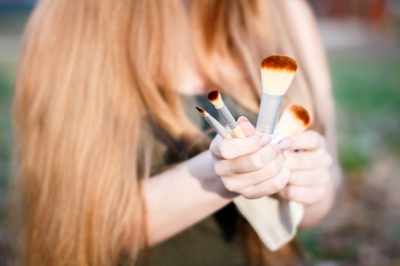 Štetce na make-up Bambooska, foto: Bambooska