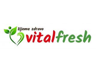 Logo VITALFRESH - bio obchod, zdrave biopotraviny a bezlepkové potraviny