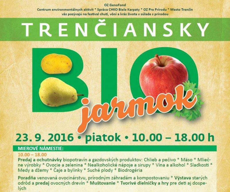 BIO jarmok, Trenčín september 2016