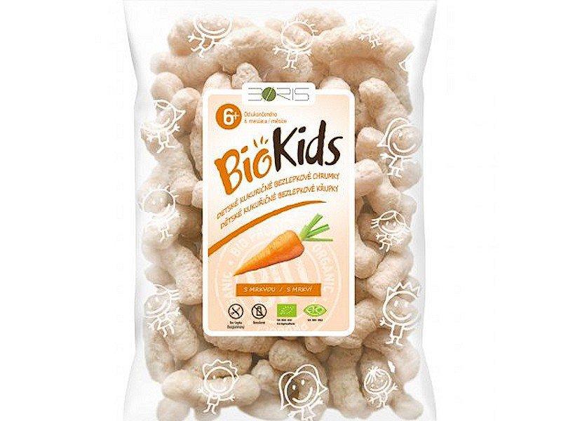 BioKids - chrumky s mrkvou