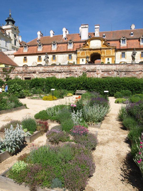 Bylinková záhrada Valtice