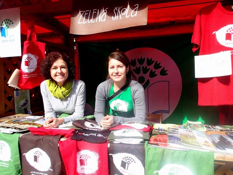 Danka a Katka z programu Zelená škola