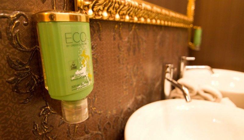 Ekologická kúpeľňová kozmetika - Hotel Dália, Košice     foto: Eco friendly Hotel Dália