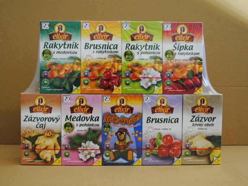 Extra čaje Agrokarpaty Plavnica