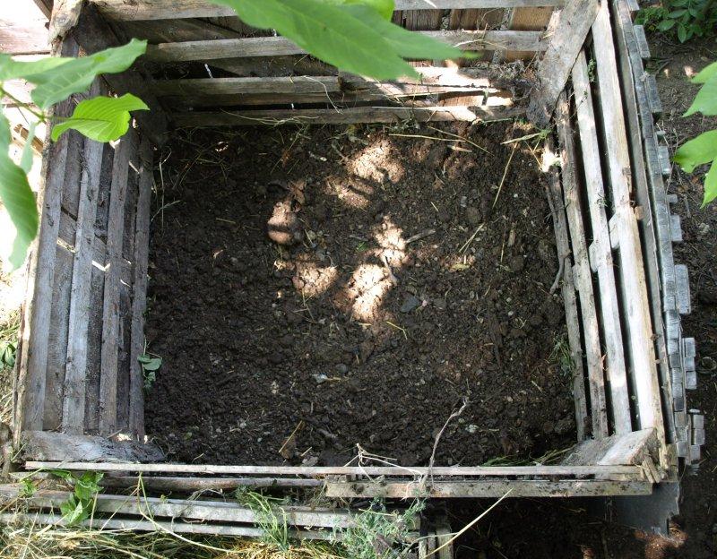 Kompost ako zimovisko