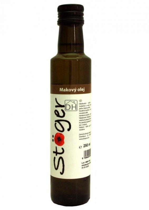 Makový olej (Stöger) BIO, 250ml