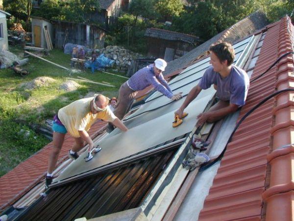 Montáž solárnych panelov