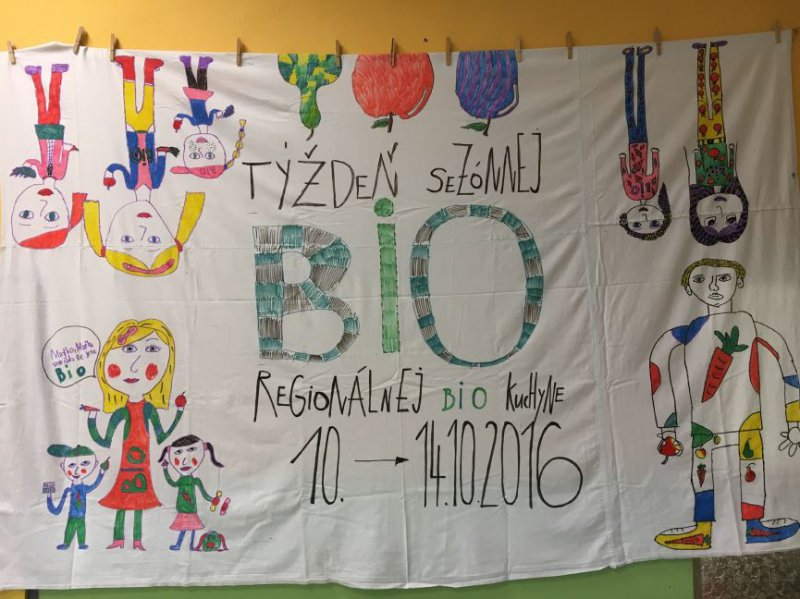 Príprava detí na Týždeň sezónnej, regionálnej a bio kuchyne