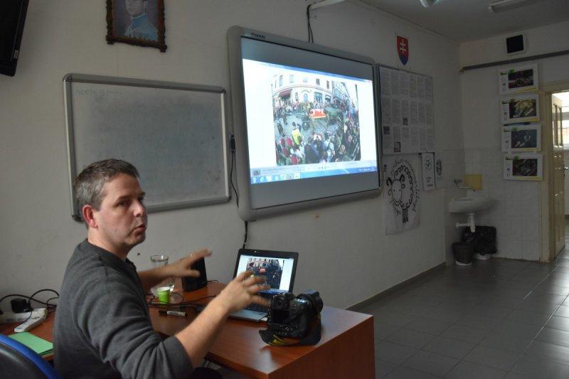 Reportážna fotografia - prezentácia Radaovana Stoklasu