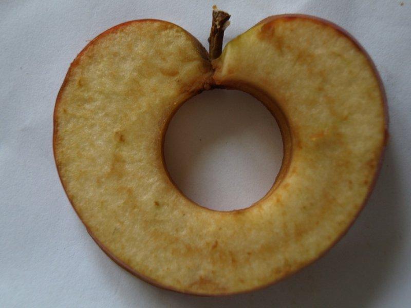 Sušené jabĺčko