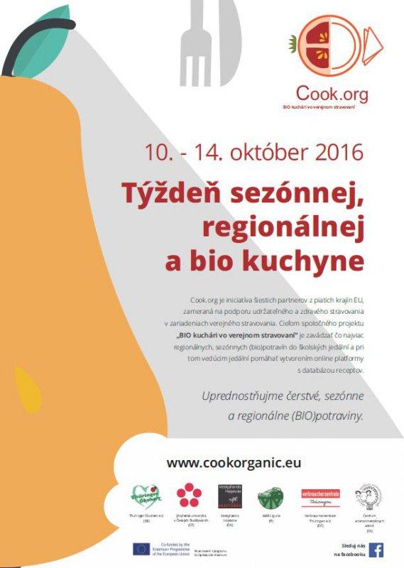 Týždeň sezónnej, regionálnej a bio kuchyne