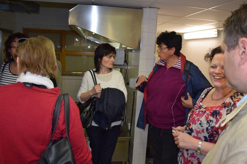 V kuchyni s pani riaditeľkou a vedúcou ŠJ, ZŠ Drásov