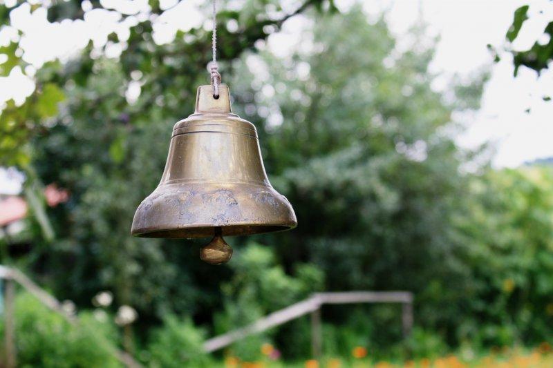 Zvonček na eko farme v Odorici