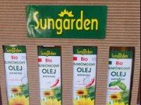bio slnečnicové oleje sungarden