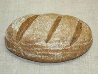 Celozrnný špaldový kváskový chlieb s ľanom, BIO,  foto: ZELENÁ a MODRÁ s.r.o.