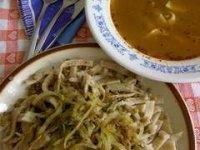 cesnaková polievka a...