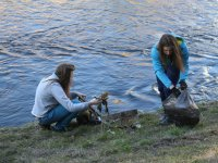 Čistenie brehov rieky hornád
