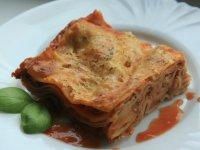 cuketové lasagne