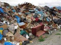 detail ukladaného odpadu