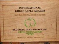 International Green Apple Awards,  foto: Rudolf Pado