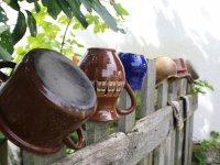 Keramika na plote,  foto: Adriána Henčeková