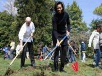 Michelle Obamová so žiakmi,  foto: Reuters