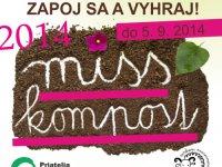 Miss kompost 2014,  foto: Priatelia Zeme