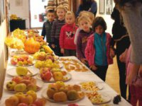 Na výstave Plodobrania,  foto: Jana Kipilová
