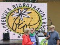 odovzdávanie cien slovenská biopotravna roka 2014
