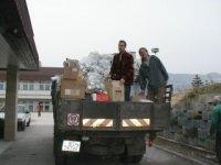 Odvoz surovín (odpadu),  foto: Miloš Veverka