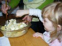 príprava pšenového nákypu
