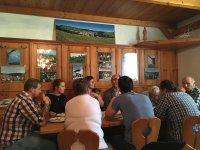reštaurácia v penzióne dolinka