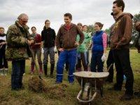 s jánom Šlinským, pestovateľom biozeleniny