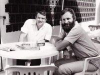 S Josefom Vavrouškom,  foto: archív prof. Hubu