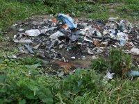 Spaľovanie odpadu,  foto: Pavol Fábry