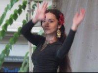 tanečníčky zo skupiny ishtar