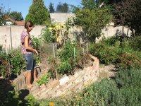 ukážková prírodná záhrada v dlhej nad váhom