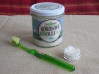 zubná pasta z kokosového oleja, cena