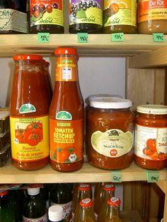 BIO potraviny z dovozu
