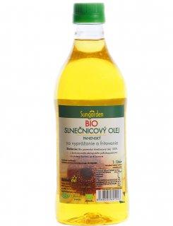 Bio slnečnicový olej Sungarden na vyprážanie a fritovanie