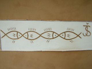 Dekorácia hlinenej omietky