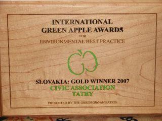 cena International Green Apple Awards