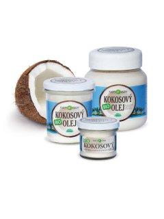 BIO kokosový olej - darček pre zdravie - Kokosové oleje