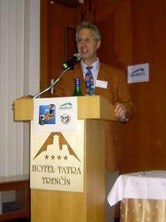Martien Lankester na konferencii AVALON 2004