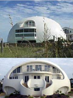 Moderné iglu bývanie bohatého Eskimáka