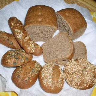 špaldový chlieb detail