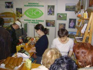 Na výstave Zdravý životný štýl v Trenčíne (5.-8.4.2006)